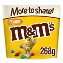 m&m's peanut chocolate more to share pouch 268 g - product's photo