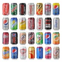 all soft drinks from holland coca cola, sprite, fanta, 7up  - product's photo