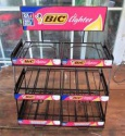 hot selling metal lighter display rack - hold 6 boxes of bics - lighte - product's photo