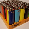 bic classic cigarette lighters disposable j3 size, assorted colors - p - product's photo