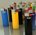 bic flint gas lighters  - product's photo