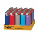 mini bic lighters long lasting assorted colors  - product's photo