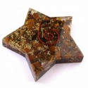 orgone tiger eye pentagram  - product's photo