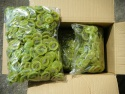 new crop green color sweet sliced dried kiwi  - product's photo