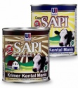 cap sapi sweetened condensed milk - product's photo