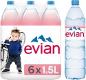 evian still mineral water - product's photo