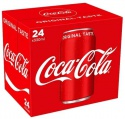 coca-cola original taste 24 x 330ml cans - product's photo
