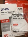 kn95 dust mask 5ply face mask protective mask - product's photo