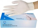 blue examination disposable vinyl pvc nitrile latex hand gloves - product's photo