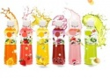 fresh fruit juice - product's photo