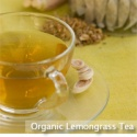 fresh organic lemongrass tea - product's photo