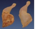 chicken leg quarter - product's photo