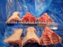 frozen chicken backs - product's photo