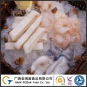 mix seafood include baby octopus and shrimp - product's photo