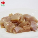 chicken leg broken pieces meat the legs of diced - product's photo