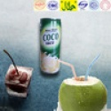 popular coco juice drink plant protein beverage - product's photo