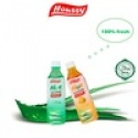 famous brand houssy aloe vera drink with big pulps - product's photo