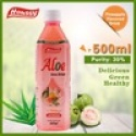 hs-06[aloe vera drink] pomegranate flavor aloe vera drink popular drink - product's photo