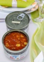 canned tuna in tomato sauce - product's photo