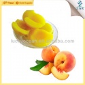 yellow peach fruit in can  - product's photo