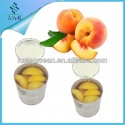 canned fresh yellow peach halves fda - product's photo