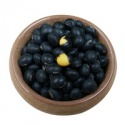 black soybeans with yellow kernel - product's photo