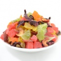 organic flowering dried fruit flavored tea - product's photo