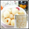 canned lychee - product's photo