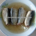 canned mackerel in oil - product's photo