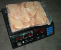 frozen fresh halal chicken meat boneless skinless - product's photo