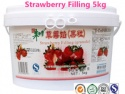 strawberry endurable filling 5kg - product's photo