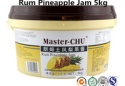 rum pineapple jam for bakery - product's photo