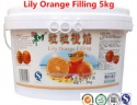 lily orange filling for fresh fruit pie and all kinds of baking cakes/bread - product's photo