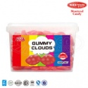 2kg box packing strawberry flavour gummy cloud - product's photo