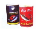canned red mackerel in oil - product's photo