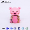 piggy bank type pig shape jelly jar assorted  - product's photo