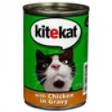 kitekat 400g chicken cat food - product's photo