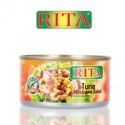 canned value added tuna and mexican salad - product's photo