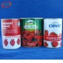 syrup strawberry canned fruit - product's photo