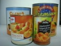canned apricots in syrup - product's photo