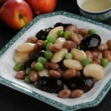 instant food of delicious canned mixed beans  - product's photo