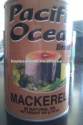 mackerel canned fish - product's photo