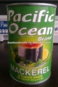 canned mackerel fish - product's photo
