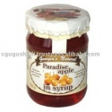 paradise apple in syrup canned fruit - product's photo