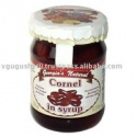 cornelian cherry canned fruit in syrup - product's photo
