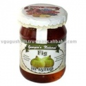 canned natural sweet fig fruit syrup - product's photo