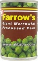 farrow marrow fat proc peas - product's photo