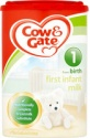 cow & gate first milk - product's photo