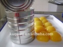 canned yellow peach in light syrup - product's photo