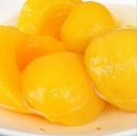canned yellow peach havles in light syrup - product's photo